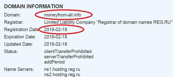 http moneyfrom all info создан буквально день назад