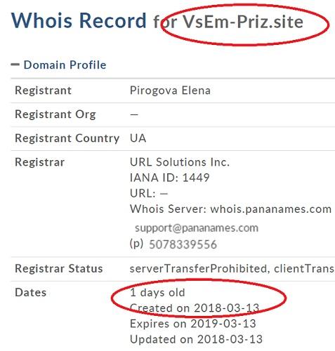 международная компания с лицензией №647795 существует всего лишь один день