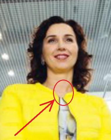 сергеева наталья владимировна имеет поддельную голову с размазанной шеей