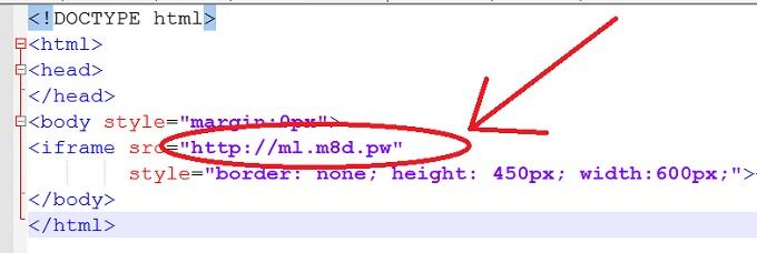 плагин для заработка в браузере содержит ссылку на странный ресурс ml m8d pw