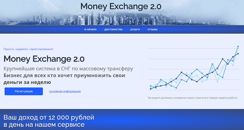 Money Exchange 2.0 страница скрипта