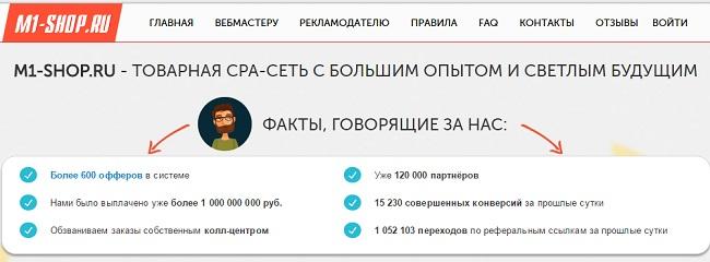 sergej nazarenko в своём курсе работает в сети M1 Shop