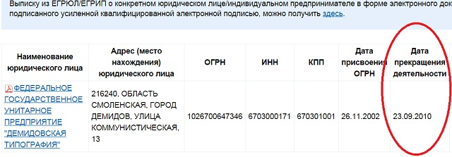 демидовская типография уже не работает
