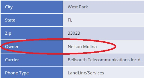 адрес 4131 SW 33rd Drive и номер телефона 1 954 894 2400 - не имеют отношения к namogroupадрес 4131 SW 33rd Drive и номер телефона 1 954 894 2400 - не имеют отношения к namogroup