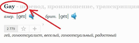 уточняем слово из названия сайта в словаре