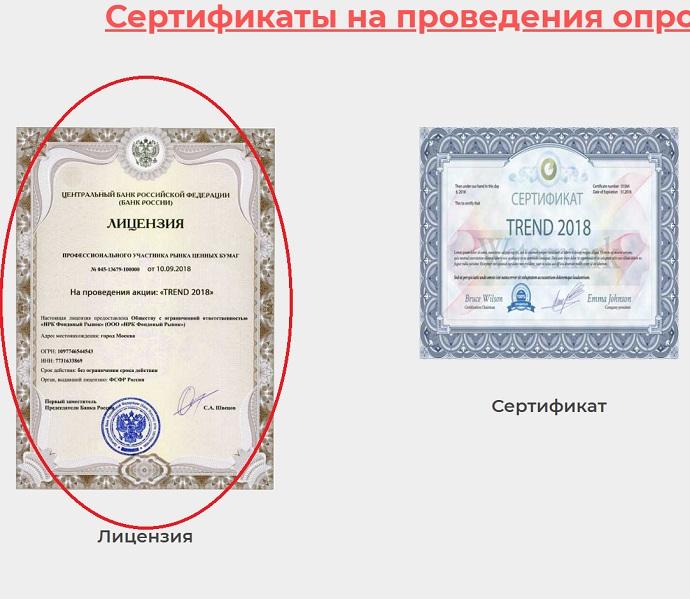 рейтинг потребителей россии и стран снг имеет странные и сомнительные лицензии и сертификаты