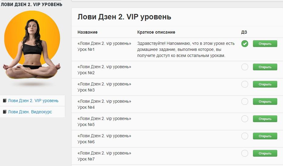 Лови Дзен 2. VIP-уровень Вика Самойлова