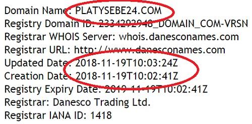 https platysebe24 ru отзывы отсутствуют потому что сайту всего несколько дней