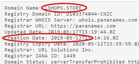 lshops store существует очень мало дней
