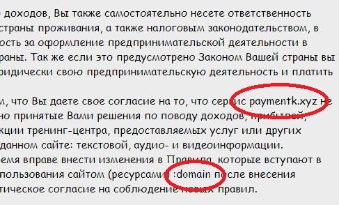 отзывы про сервис payment online пока неясны но оферта написана шаблонно