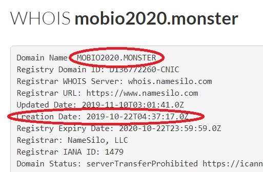 https mobio2020 monster существует меньше месяца