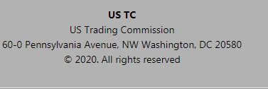 us trading commission protecting - смотрим адрес в США 60 0 pennsylvania avenue nw washington