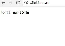 wildbirres ru даже не имеет главной страницы