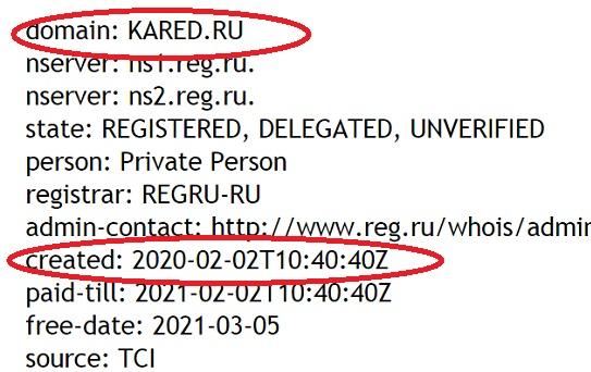k f z kared ru существует всего-лишь один месяц