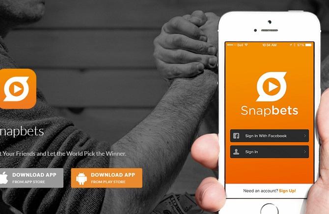 приложения snapbet не существует, а вместо него есть только созвучное snap bets