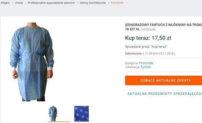 спец текстиль взял фото халата с польского сайта
