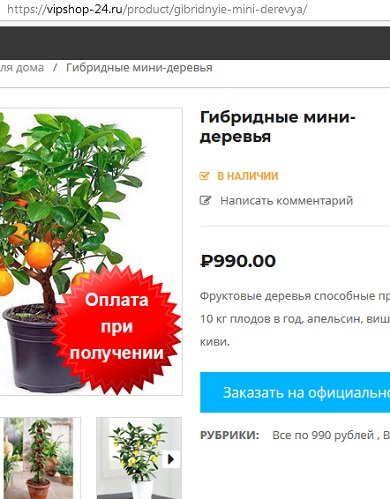 также есть мини-деревья от компании экодар или ecodar о которой очень плохие отзывы
