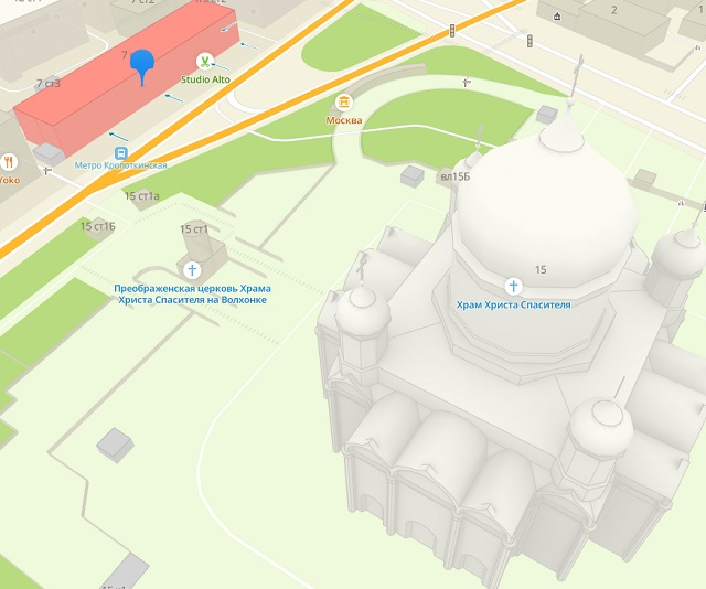 ооо регион групп якобы находится в центре москвы у храма христа спасителя