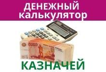 Денежный калькулятор казначей отзывы